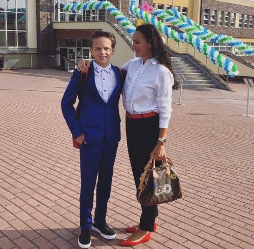 Егор Шип и мама